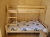 łóżko piętrowe - domki letniskowe